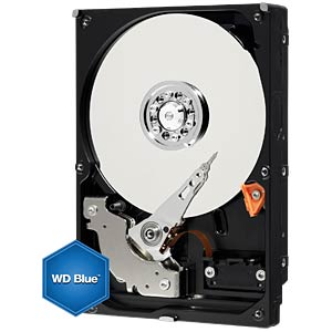 "WD Blue 3.5"" PC hard drive with 5 TB WESTERN DIGITAL WD50EZRZ"