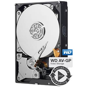 2TB Festplatte WD AV - Video WESTERN DIGITAL WD20EURX