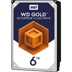 6TB Festplatte WD Gold - Datacenter WESTERN DIGITAL WD6002FRYZ