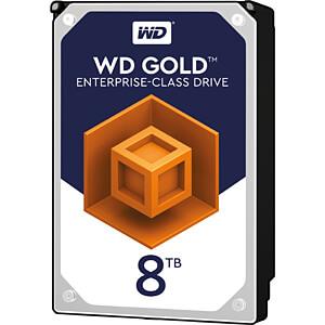 8TB Festplatte WD Gold - Datacenter WESTERN DIGITAL WD8003FRYZ