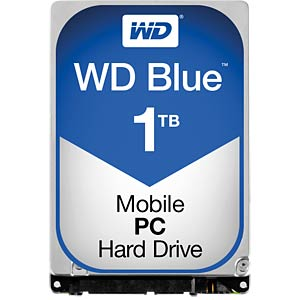 Notebook hard drive, 1 TB, WD Blue WESTERN DIGITAL WD10JPVX