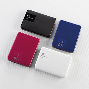 WD My Passport Ultra 3 TB red WESTERN DIGITAL WDBBKD0030BBY