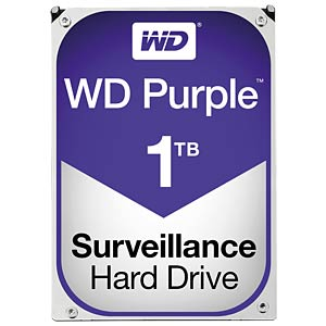 WD Purple 3,5-Zoll-Video-Festplatte mit 1 TB WESTERN DIGITAL WD10PURX