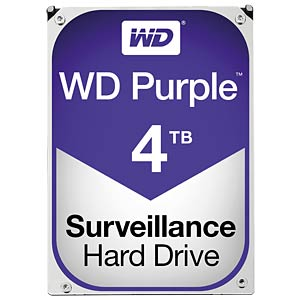 WD Purple 3,5-Zoll-Video-Festplatte mit 4 TB WESTERN DIGITAL WD40PURX