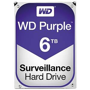 WD Purple 3,5-Zoll-Video-Festplatte mit 6 TB WESTERN DIGITAL WD60PURX