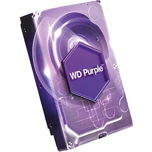 Desktop hard drive, 6 TB, WD Purple WESTERN DIGITAL WD60PURX