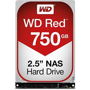 Notebook-Festplatte, 750 GB, WD Red WESTERN DIGITAL WD7500BFCX