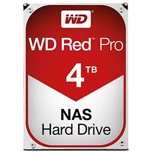 Desktop hard disk, 4 TB, WD Red Pro WESTERN DIGITAL WD4002FFWX