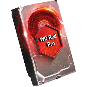 Desktop hard drive, 6 TB, WD Red Pro WESTERN DIGITAL WD6002FFWX