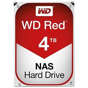 4TB Festplatte WD RED - NAS WESTERN DIGITAL WD40EFRX