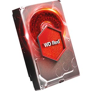 Desktop hard drive, 8 TB, WD Red WESTERN DIGITAL WD80EFZX