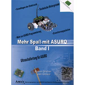 Book - More fun with ASURO, Volume 1 AREXX ARX-BKD