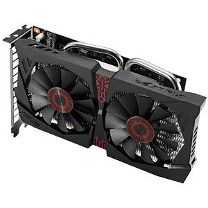 ASUS GF GTX 750 Ti - 2 GB - aktiv ASUS 90YV06W0-M0NA00