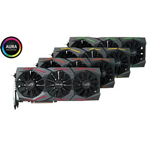 ASUS GF GTX 1080 OC - 8 GB - aktiv ASUS 90YV09M1-M0NM00