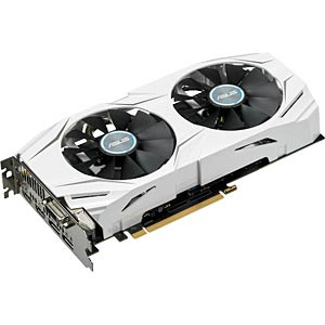 ASUS GF GTX 1060 - 6 GB - aktiv ASUS 90YV09X4-M0NA00