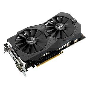 ASUS GF GTX 1050 Ti OC - 4 GB - aktiv ASUS 90YV0A30-M0NA00