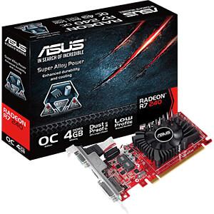 ASUS Radeon R7 240 - 4 GB ASUS 90YV0BG0-M0NA00