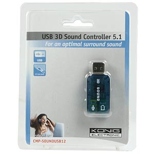 Sound Stick USB Stereo KÖNIG CMP-SOUNDUSB12