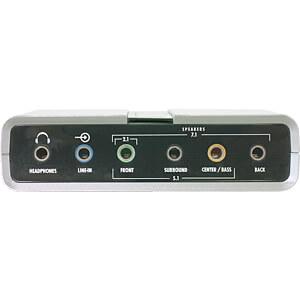 DELOCK 61803 - Delock USB Sound Box 7.1