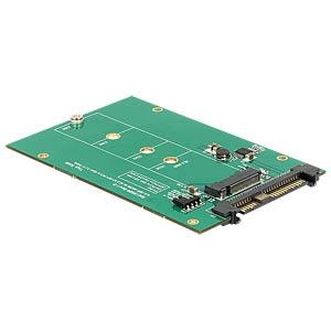 Konverter U.2 SFF-8639 > M.2 NGFF NVMe KeyM DELOCK 62696