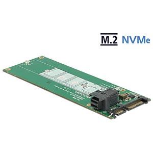 SATA 22 pin / SFF-8643 NVMe > 1 x M.2 NGFF Key M DELOCK 62703