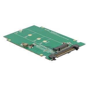 Konverter U.2 SFF-8639 > M.2 NGFF NVMe Key M DELOCK 62710