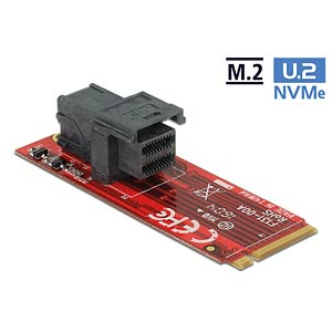 Adapter M.2 Key M > SFF-8643 NVMe DELOCK 62721
