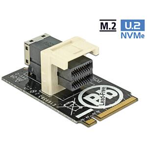 Delock Adapter M.2 Key M > SFF-8643 NVMe horizontal 2242 DELOCK 63918