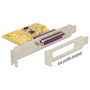 PCI Express card 1 x parallel DELOCK 89445