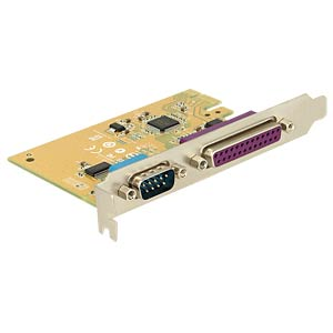 PCI Express Card > 1 x Serial + 1 x Parallel DELOCK 89446
