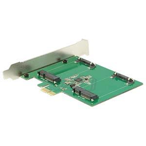 PCIe Card > 2x mSATA DELOCK 89479