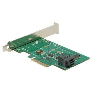PCIe Card > M.2 NVMe & SFF-8643 DELOCK 89517