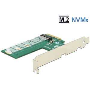 PCIe Card > 1 x M.2 Key M NVMe DELOCK 89561