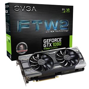 EVGA GF GTX 1080 - 8 GB EVGA 08G-P4-6686-KR