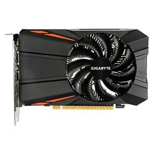 GV-N105TD5-4GD - Gigabyte GF GTX 1050 Ti - 4 GB - aktiv