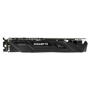 Gigabyte GF GTX 1050 Ti - 4 GB - aktiv GIGABYTE GV-N105TG1 GAMING-4GD