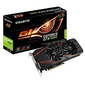 Gigabyte GF GTX 1060 OC - 6 GB - aktiv GIGABYTE GV-N1060G1 GAMING-6GD