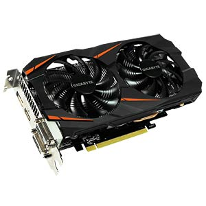 Gigabyte GF GTX 1060 Windforce OC - 6 GB GIGABYTE GV-N1060WF2OC-6GD
