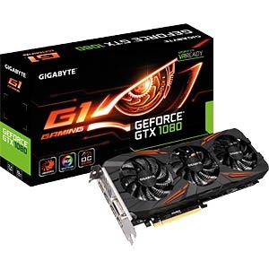 Gigabyte GF GTX 1080 OC — 8GB — active GIGABYTE GV-N1080G1 GAMING-8GD