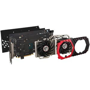 MSI GF GTX 1060 Gaming X — 6GB — active MSI V328-001R