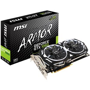 MSI GeForce GTX 1060 Armor 6G OCV1 - 6 GB MSI V328-023R