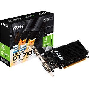 MSI GeForce GT 710 - 1 GB - passiv MSI V809-1899R