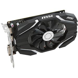 MSI GF GTX 1050 Ti OC - 4 GB - aktiv MSI V809-2272R