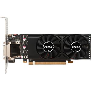 MSI GF GTX 1050 Ti - 4 GB - aktiv MSI V809-2404R