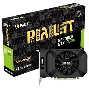 Palit GF GTX 1050 Ti - 4 GB - aktiv PALIT NE5105T018G1F