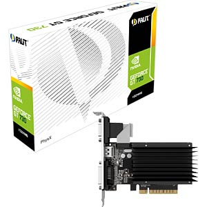 Palit GF GT 730 — 1GB — passive PALIT NEAT7300HD06H