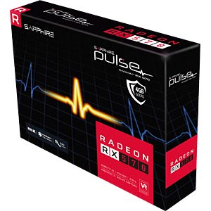 Sapphire Pulse Radeon RX 570 - 4 GB SAPPHIRE 11266-04-20G