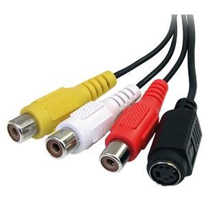 Videokarte, Grabber, Kabel, USB Typ A STARTECH.COM SVID2USB23