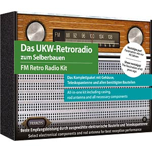 FM retro radio kit FRANZIS-VERLAG 978-3-645-65040-3