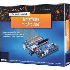 Educational kit: Lighting effects with Arduino FRANZIS-VERLAG 978-3-645-65130-1